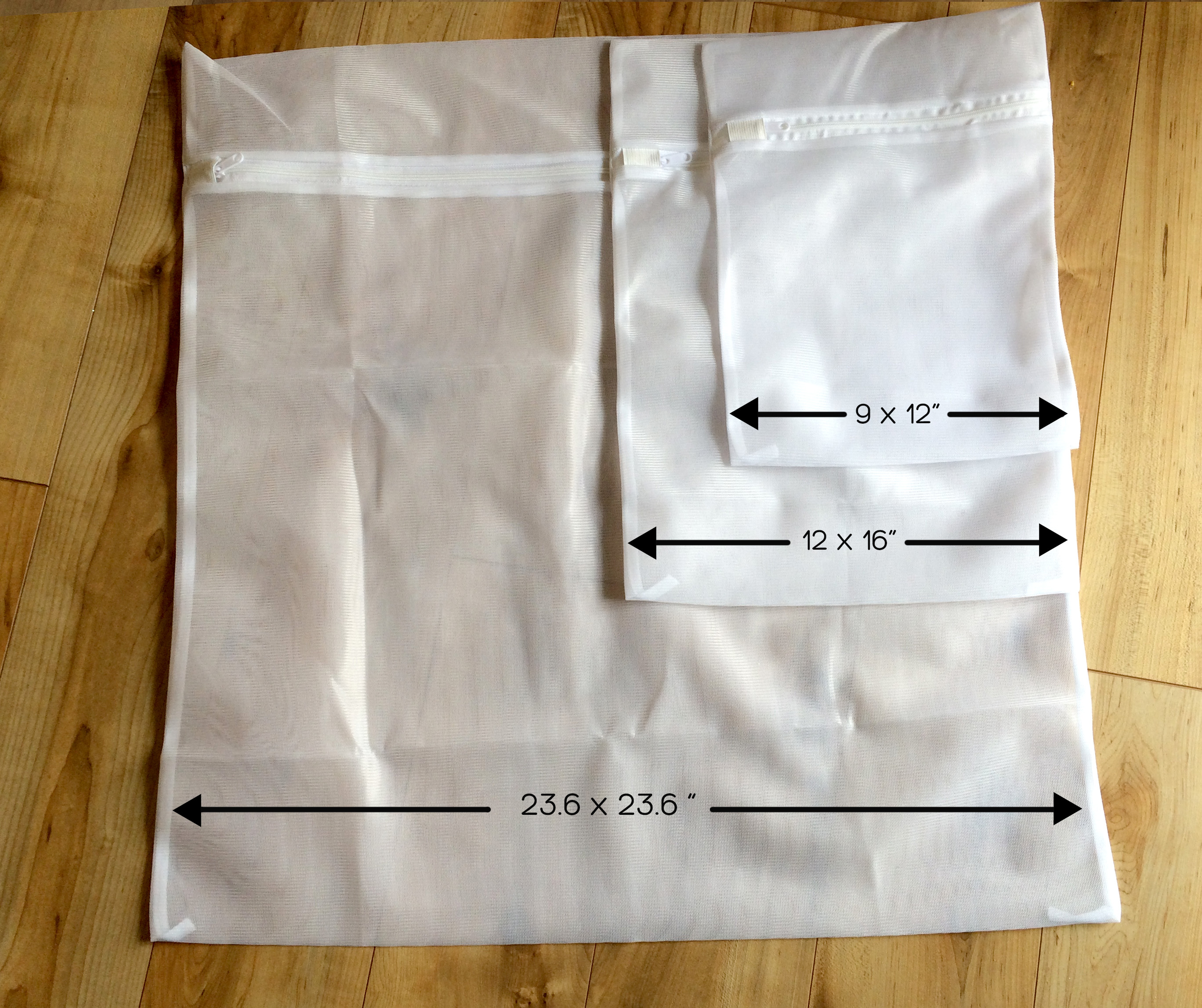 Laundry Bags Measurements